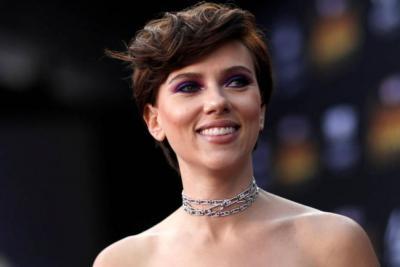 La actriz estadounidense Scarlett Johansson encabeza la lista de 2018.
