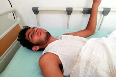 Jeison Cortés tiene 18 años y fue apuñalado por la espalda por un conocido en vía pública del barrio El Progreso de la comuna Seis del Puerto Petrolero.