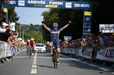 Etapa y liderato para el francés Alan Riou