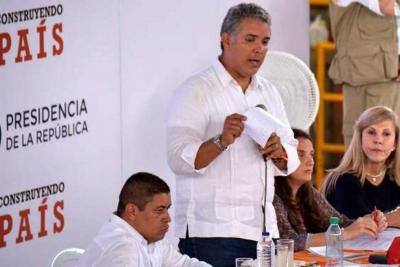 """El presidente Duque aseguró que """"no habrá impunidad"""" en crímenes de líderes"""