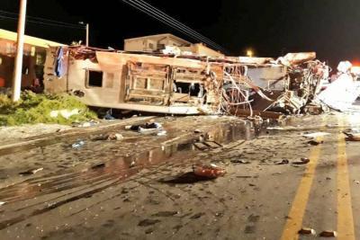 Accidente en ecuador: el delito al que le fallaron los frenos