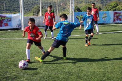 La Copa Yogurcito sigue su curso con goles al por mayor