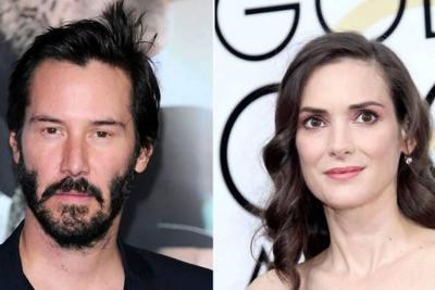 Winona Ryder reveló que está casada con Keanu Reeves desde 1993