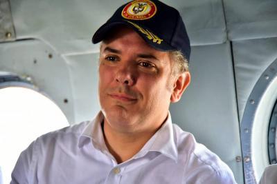 Presidente Duque llegó a Mocoa para evaluar respuesta a la emergencia invernal
