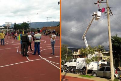 14 barrios en Bucaramanga se quedaron sin luz por dos cometas
