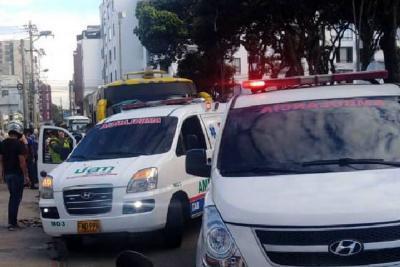 Le pidió que no fumara marihuana en un bus público de Bucaramanga y la apuñaló