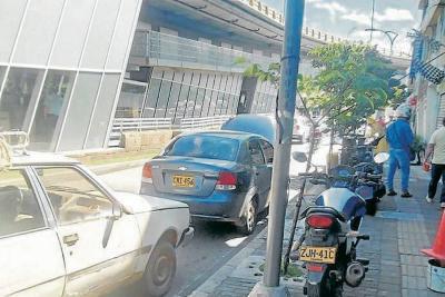 Caos en la movilidad en Bucaramanga