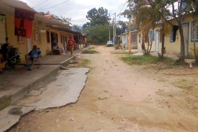 Comunidad de La Diva espera pavimento en vías