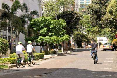 Doce corredores conformarán los 20,1 kilómetros de ciclorruta en Bucaramanga