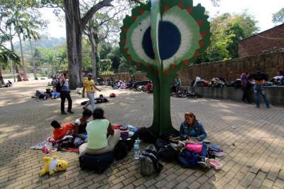 Cerca de 400 venezolanos llegan diariamente a Bucaramanga