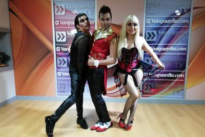 Así fue la entrevista con el Cabaret Vodevil en Vanguardia Liberal