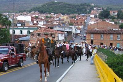 En duda la realización de la cabalgata en ferias de San Gil