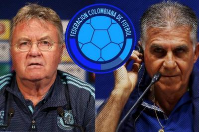 Guus Hiddink y Carlos Queiroz, serios candidatos para dirigir la Selección Colombia