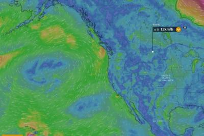 Siga en directo la llegada del huracán Lane a Hawái