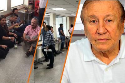 Polémica por retiro de sillas de cafetería en la Alcaldía de Bucaramanga.