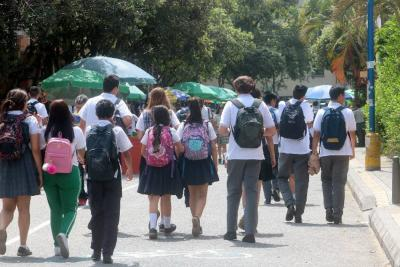 Se está duplicando cifra de estudiantes venezolanos en colegios de Bucaramanga