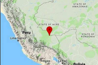 Terremoto de 7 grados sacudió la frontera entre Perú y Brasil