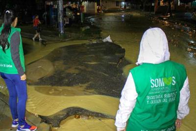 Atención y sugerencias para las fuertes lluvias en el municipio