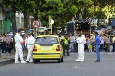 Dos muertos dejó atentado  en el Centro de Bucaramanga