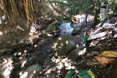 Empresa privada se suma a jornada de limpieza en quebrada Suratoque
