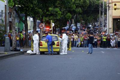 Las historias del taxista y el presidiario baleados en el Centro de Bucaramanga