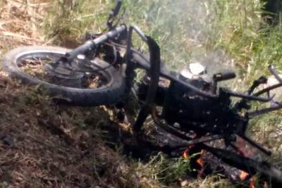 Un hombre murió por estallido de motocicleta-bomba en el Cauca