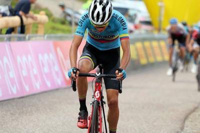 Alejandro Osorio es el campeón de la montaña en el Tour de L'Avenir