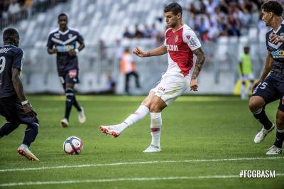 Con Falcao los 90 minutos, Mónaco perdió 1-2 con el Bordeaux