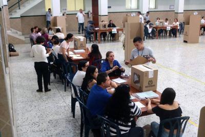 Se cierra la votación: Registraduría inició el conteo de los votos de la Consulta Anticorrupción