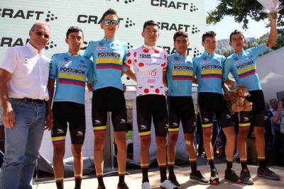 Colombia brilló en el Tour de l'Avenir