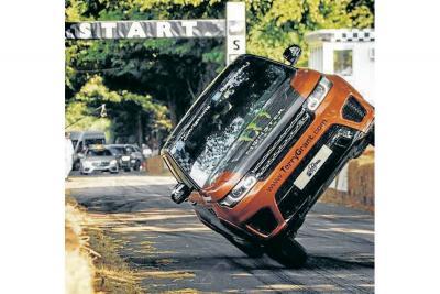 Récord mundial en dos ruedas para Land Rover
