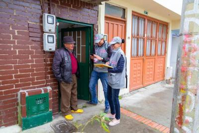Más de 12 millones de hogares colombianos se han censado