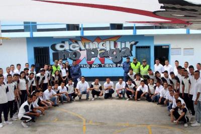 Más de 300 estudiantes han visitado la Cárcel Modelo de Bucaramanga