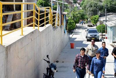 Municipio entregará obras de estabilización en taludes