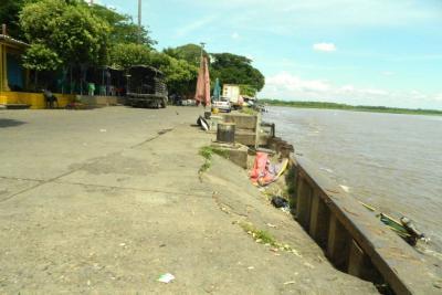 Peligro inminente en el Paseo del Río de Barrancabermeja