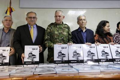 Ejército entregó 50 tomos de información relacionados con las Farc