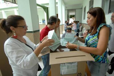 CNE inició proceso de escrutinio de la Consulta Anticorrupción