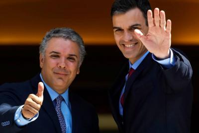 Presidente español Pedro Sánchez se reunirá hoy con Duque