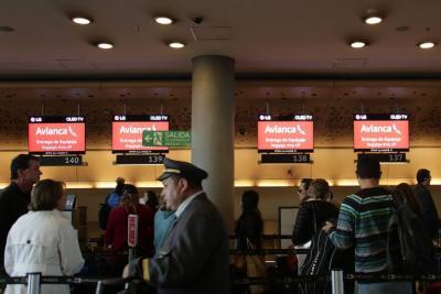 Avianca extiende a 45 minutos el tiempo del check-in en vuelos nacionales