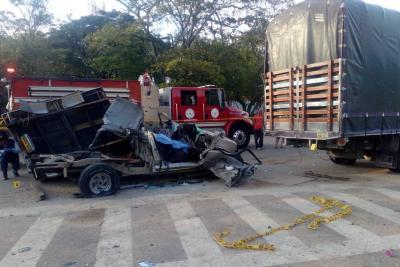 Identifican al hombre que murió en grave accidente en Bucaramanga