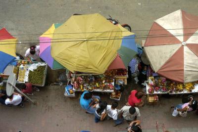 Fijan 'hora cero' para retirar a los vendedores ambulantes en Bucaramanga