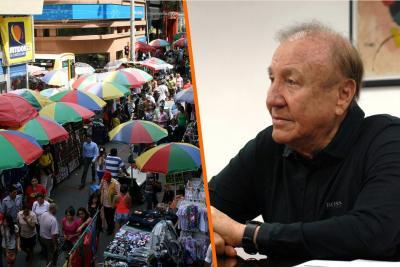 """""""Terminar con la invasión del espacio público es como acabar con la gripa"""": Alcalde de Bucaramanga"""