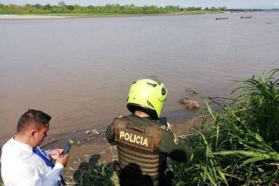 Un cadáver flotó en el cauce del río Magdalena