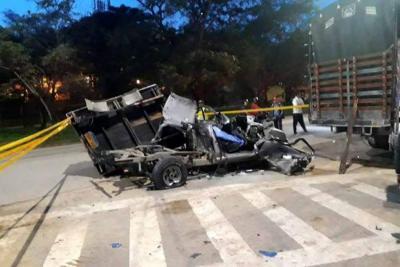 Un vigilante fue la víctima del accidente en Centroabastos