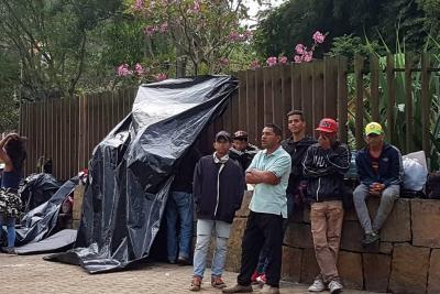 30 venezolanos que llegaron a Bucaramanga retornarán a su país voluntariamente