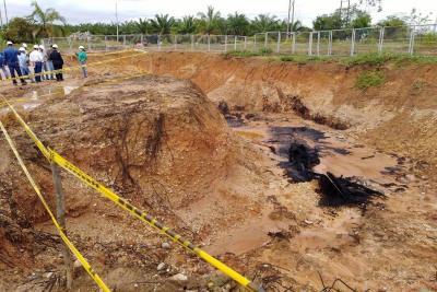 Aún se mantiene la calamidad pública por pozo Lisama 158