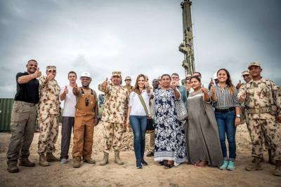 Ejército Nacional y Misión Naval de EE. UU. construirán pozo en La Guajira
