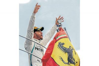 Lewis Hamilton venció y es más líder de la Fórmula Uno