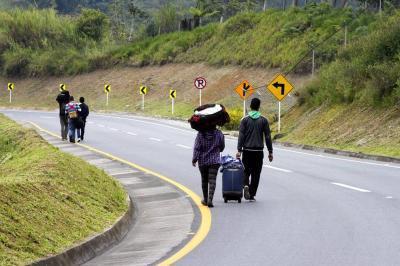 ¿Se están muriendo los venezolanos que van a pie por Santander?