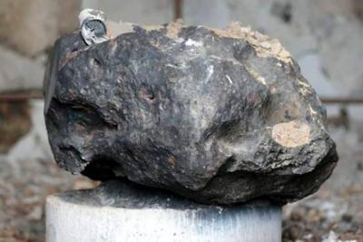 El misterioso meteorito que sobrevivió al incendio en el Museo Brasil